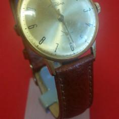 Ceas Raketa placat aur 14 kt / 1955 - extraplat