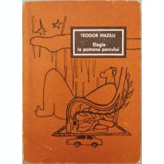 Elegie la pomana porcului - Teodor Mazilu