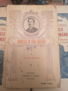 Octav Minar - Eminescu in fata justitiei | Okazii.ro