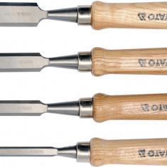 Set 4 dalti pentru lemn YATO