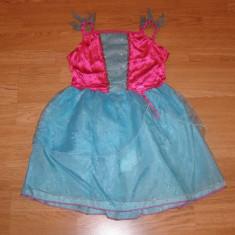 costum carnaval serbare printesa pentru copii de 4-5-6 ani