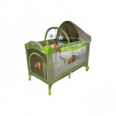 Cumpara ieftin Patut pliabil Pentru Copii DeLuxe Plus-Go Green Train