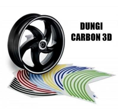 Dungi decorare jante - Carbon 3D foto