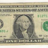 Bancnota -USD- Statele Unite ale Americii 1 Dolar $ - 2009 / A024
