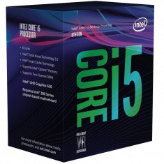 Procesor Intel Core i5-8600 Hexa Core 3.1 GHz Socket 1151 BOX