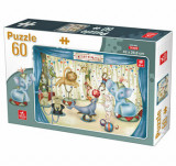 Cumpara ieftin Puzzle Animale, 60 piese