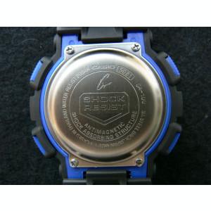 CEAS SPORT CASIO G-SHOCK GA-100 BLACK&BLUE-NOU-BACKLIGHT-CALITATE PESTE PRET-