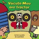 Vacuta Muu are tractor |