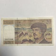 FRANTA 20 FRANCI 1991
