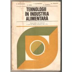 Tehnologii in industria alimentara-E.Petculescu*V.Slivneanu