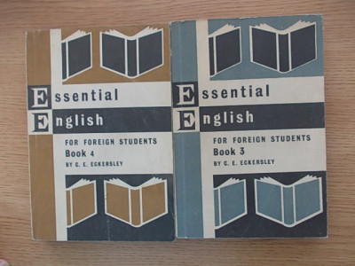 ESSENTIAL ENGLISH FOR FOREIGN STUDENTS BOOK 3 AND 4-CE ECKERSLEY-R6E foto