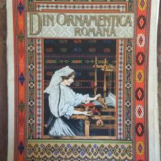 Dimitrie Comsa - Din ornamentica romana Album de broderii si tesaturi romanesti