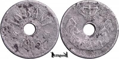 1905, 10 Bani - Carol I - Romania foto