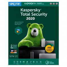 Kaspersky Total Security 2020 - 1 PC 1 An