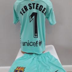 Echipamente fotbal portar pentru copii F.C.Barcelona Ter Stegen nou 2019-2020