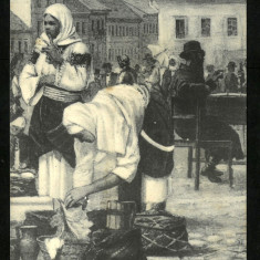 Carte Postala 1918 Circulata BUKOWINA Bucovina Cernauti CZERNOWITZ Port Popular, Fotografie