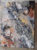 Tablouri pe acril suport panza, Abstract, Acrilic, Cubism