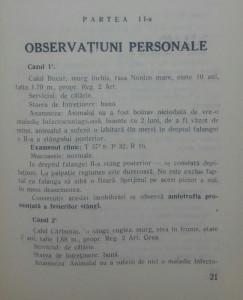 Studiu clinic si statistic asupra amiotrophilor la cal/ 1936