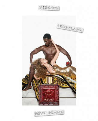 Versace Eros Flame Set (EDT 50ml + AS Balm 50ml + SG 50ml) pentru Bărbați foto