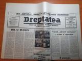 """dreptatea 27  martie 1990-art.""""iuliu maniu""""si""""frontul salvarii nationale.."""""""
