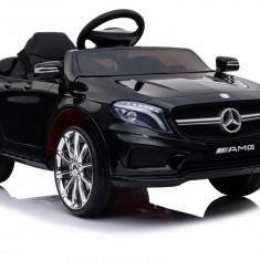 Masinuta electrica Mercedes GLA45, negru metalizat