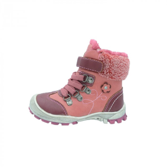 Ghete imblanite pentru fetite Badoxx 1XC-6448-W, Multicolor