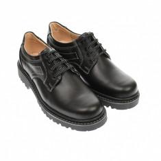 Pantofi barbati, casual din piele naturala, model toamna, iarna, MARK3NA