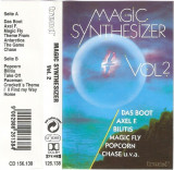 Caseta Magic Synthesizer Vol. 2, originala, electronica