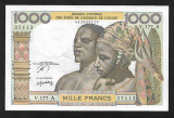West African States  1000 francs- Ivory Coast P 103A.m