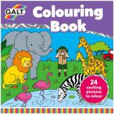 Carte de Colorat Lumea Animalelor, Galt