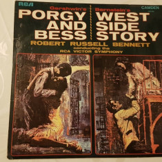 [Vinyl] Porgy and Bess - West Side Story  - disc original