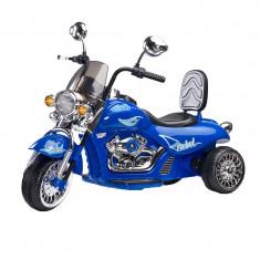 Motocicleta cu acumulator REBEL 6V CARETERO TOYZ CAR-RBL CCT1A, Albastru