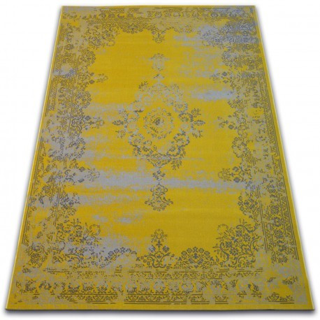 Covor Vintage Rozetă 22206/025 galben, 160x230 cm