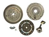 Cumpara ieftin Set ambreiaj cu volanta masa dubla si rulment hidraulic VOLVO C30, S40 II, V50; FORD C-MAX, FOCUS C-MAX, FOCUS II; MAZDA 3 1.6D intre 2003-2013, LuK