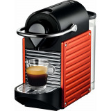 Espressor Nespresso Pixie Red C60-EU-RE-NE, 19 bari, 1260 W, 0.7 l, Rosu + 14 capsule cadou