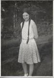 Fotografie tanara sasoaica Sebes Alba Transilvania 1931