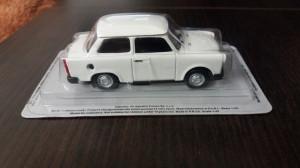 macheta trabant 1.1 limousine dea masini de legenda polonia - 1/43, noua.