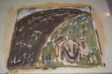 pictura ulei pe carton ,ACASANDREI AUREL , dimensiune format A4