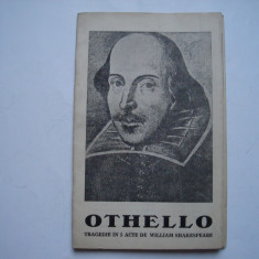 Othello - tragedie in 5 acte de William Shakespeare - plian de teatru RPR