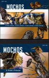 SAO TOME PRINCIPE 2015, Fauna, Pasari, Bufnite, serie neuzata, MNH, Nestampilat