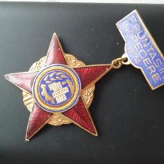 1972 Insigna Fruntas in intrecerea socialista