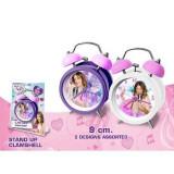 Ceas de masa desteptator Violetta (9 cm)