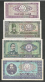 ROMANIA  LOT / SET 4 buc  : 10 + 25 + 50 + 100  LEI  1966  [6]  stari VF+ / XF