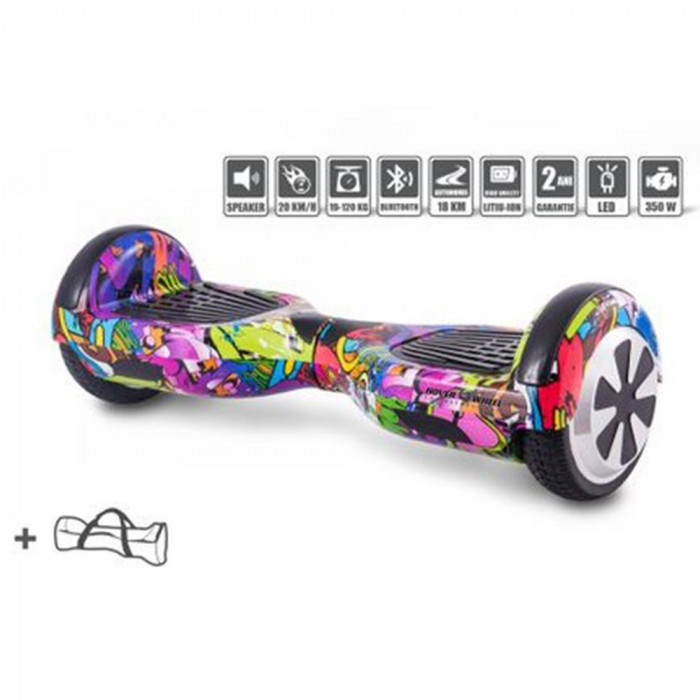 Hoverboard 6,5″ Dark Graffiti – Hoverwheel