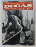 EDGAR DEGAS GRAVURES ET MONOTYPES par JEAN ADHEMAR et FRANCOISE CACHIN , 1973