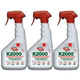 Cumpara ieftin 3 x Sano k2000, insecticid universal, otrava gandaci, purici, muste, 3 x 750ml