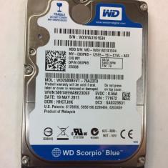 "Hard Disk Laptop 2.5"" Western Digital Scorpio Blue 250GB 5400rpm WD2500BEVT"