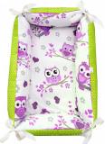 Cumpara ieftin Reductor Bebe Bed Nest Deseda Bufnite violet