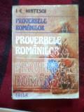 A9 PROVERBELE ROMANILOR - I.C.Hintescu