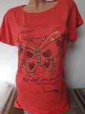 tricou dama cu maneca scurta ''Butterfly'' cod 880